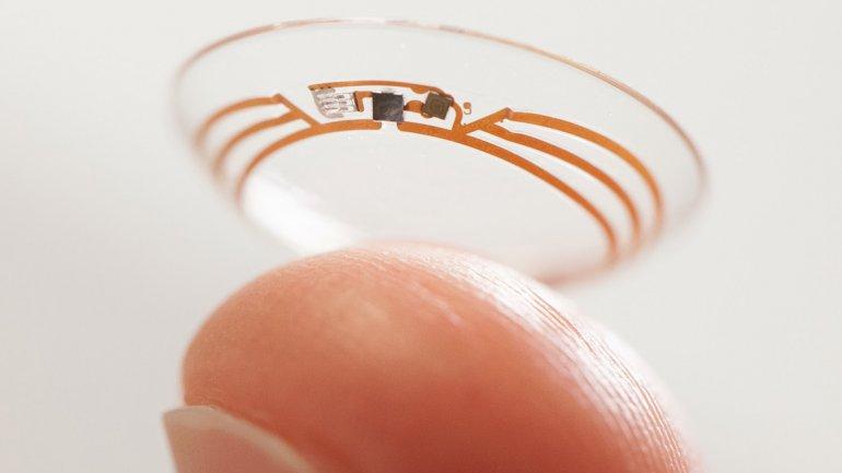 Google trabaja sobre lentes de contacto inteligentes para ayudar a diabéticos