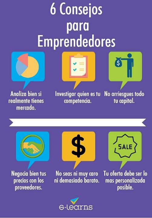 6 Consejos para Emprendedores de G-learns