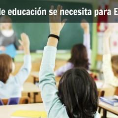 ¿Qué tipo de educación se requiere para emprender?