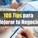 100 Tips para Mejorar tu Negocio en 100 días